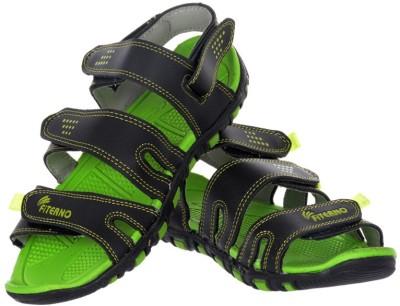 Per Te Solo Nexus Men Black, Green Sandals