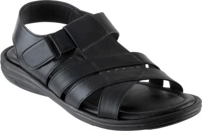 CITY FASHION Men Black Sandals