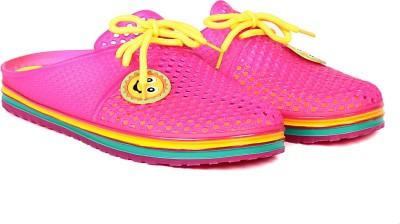 TEN Women Pink Flats