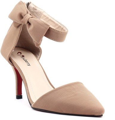 Shuberry Women Beige Heels