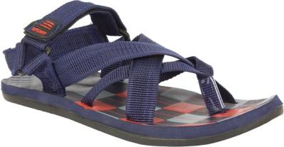 STYLE HEIGHT Men Navy Sandals