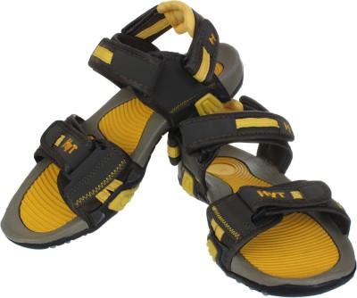 Hytech Men Olive, Yellow Sandals