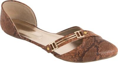 Solester Women Brown Flats