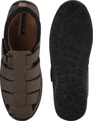 M-ZONE Men Brown Sandals