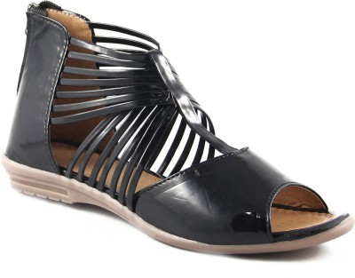 Cute Fashion Women Black Flats