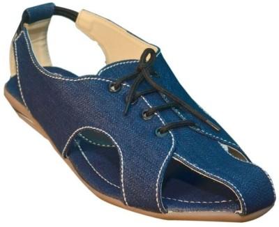 Jarwal Collection Women Blue, Blue Flats