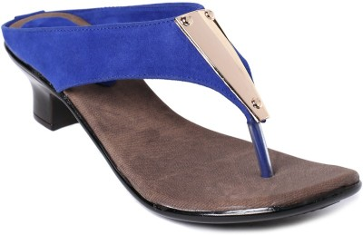 Foot Jewel Women Blue Heels