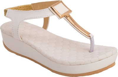 Cute Fashion Women White Wedges