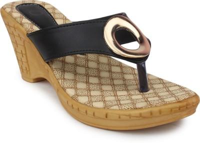 Ortan Women Black Heels
