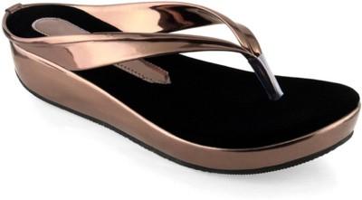 Ala Mode Girls, Women Brown Sandals