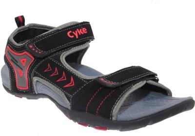 CYKE Men Black Sandals