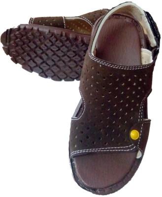 Y & J Girls, Boys Brown Sandals