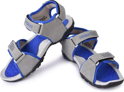 Fitcolus Men Grey Sandals