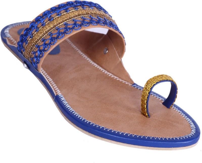 Royal Collection Women Blue Sandals