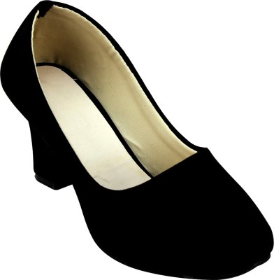 Pryann Women Black Heels