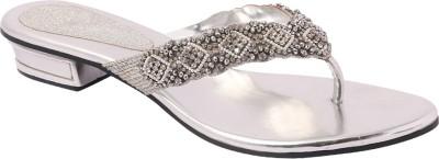 Pantof Women Silver Flats