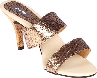 PAIO Women Gold Heels