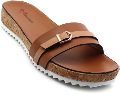 Shuberry Women Brown Flats