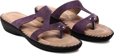 Nell Women Purple Flats