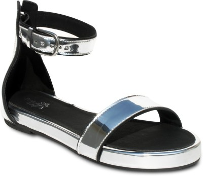 Amica Slexia Women Silver Flats