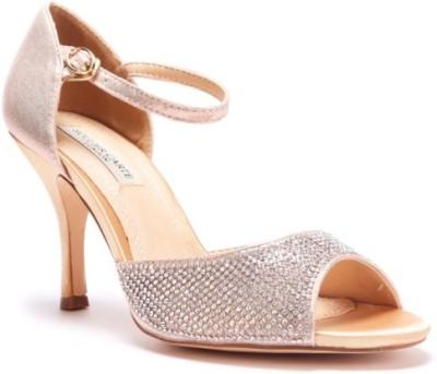 SOULIER CARTE Women Gold Heels