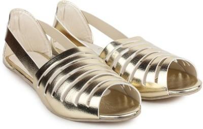 Secret closet Girls, Women Gold Flats