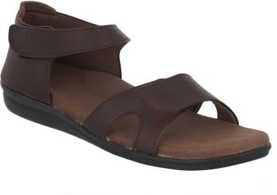 Dia One Diabetic Footwear Women Brown Flats