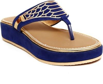 Creative Style Women Blue Flats