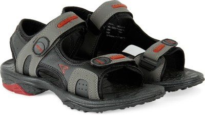 Power Men Black, Grey Sandals
