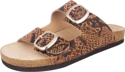 Devika Bharadwaj Women Brown, Black, Beige Flats