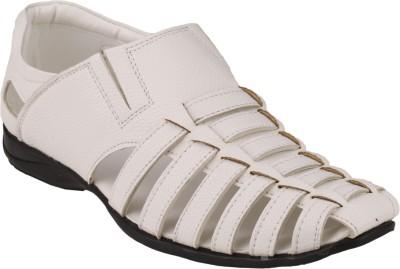 Imparadise Men White Sandals