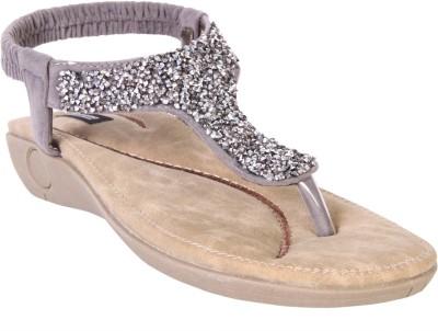 karizma shoes Women Grey Flats