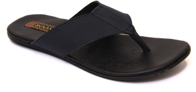 Roony Punch Men Black Sandals