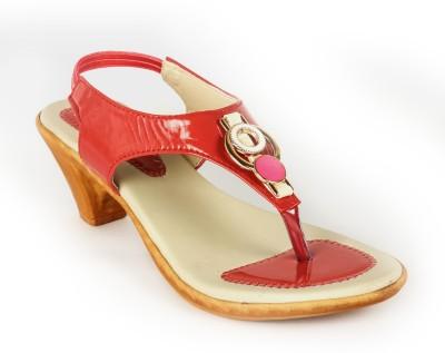 INDILEGO Women Pink Heels