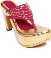 Trendy Women Pink Heels