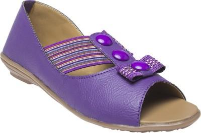 Selfie Women Purple Flats