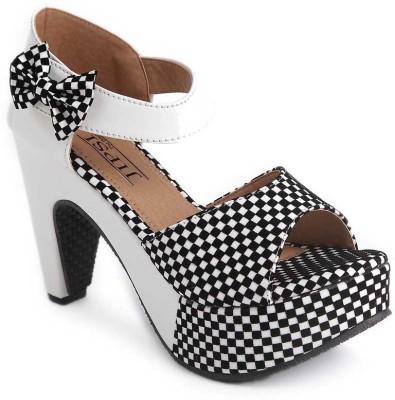 JIPSI Women White Heels