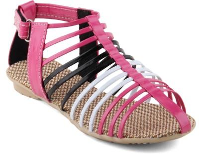 Cute Fashion Women Pink Flats