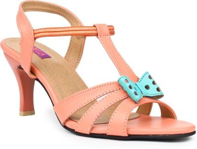 Fiorella Women Orange Heels
