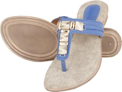 Niremo Edwy Candy Fashion Women Blue Flats