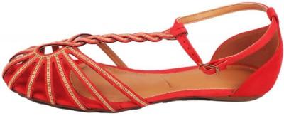 Moda Brasil Women Red Flats