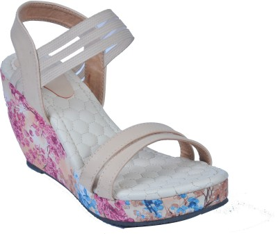 Monash Creations Girls Beige Sandals