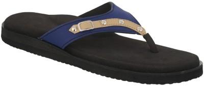 Dia One Diabetic Footwear Women Blue Flats