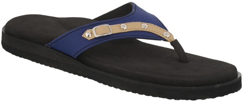 Dia One Diabetic Footwear Women Blue Flats
