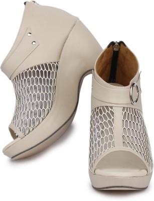 Sapatos Women Beige Wedges