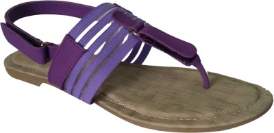 SBR Women Purple Flats