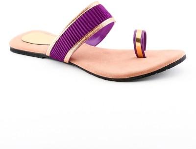 Cenizas MD14 Collection Women Purple Flats