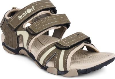 Action Shoes Men Beige Sandals