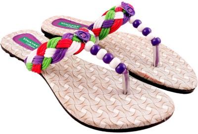 Vinayak Collection Women Purple Flats
