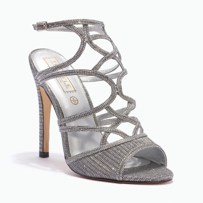 Truffle Collection Women Silver Heels